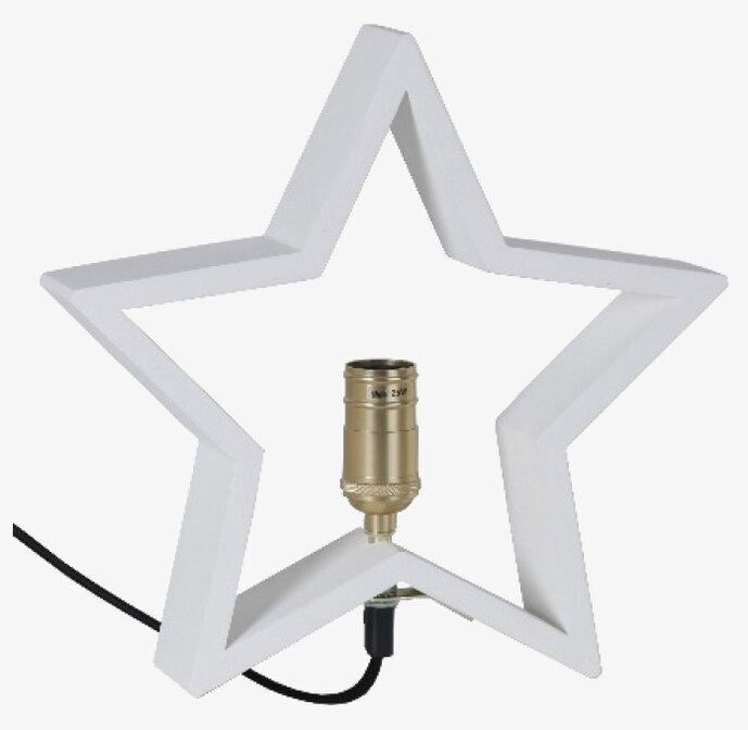 LYSeKIL Stjärna Vit Star Trading Lampa RumAttÄlska.se