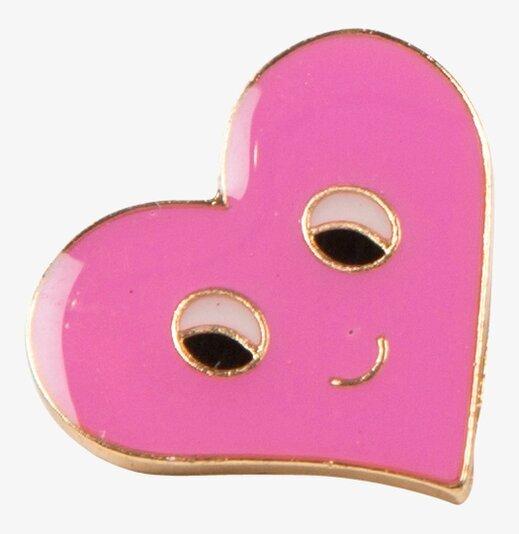 Pink Flirty Face Pin Fashion Sass & Belle RumAttÄlska.se