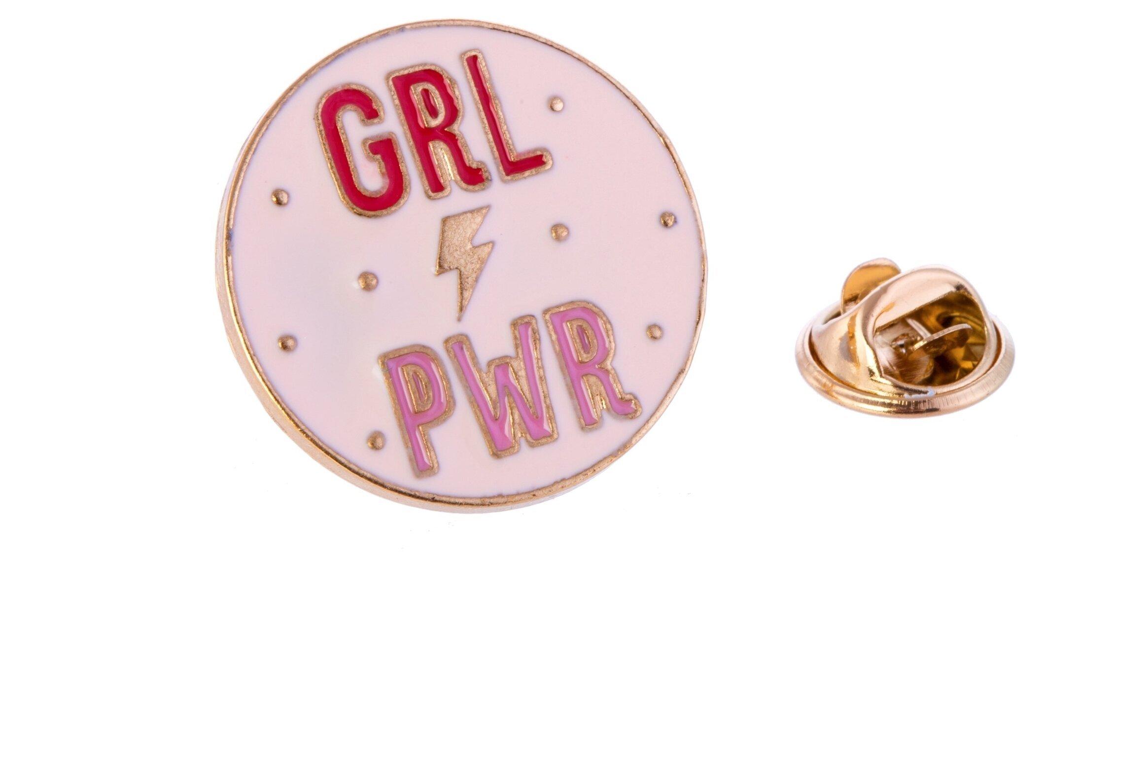 Girl Power Pin Fashion